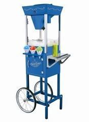 Snow Cone Machine with Cart 2