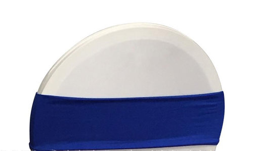 Linen: Royal Blue Chair Band