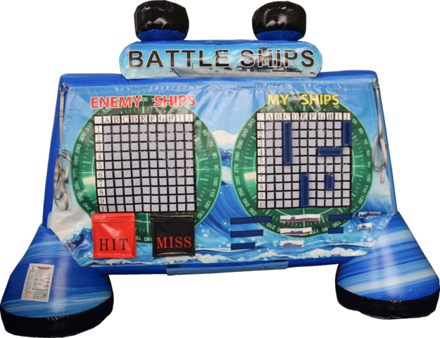 Giant Inflatable Battle Ships Game 3'x12'