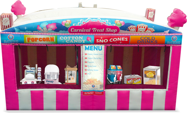 Carnival Treat Shop 15'x20'