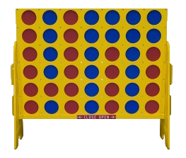 4' Giant Connect Four Game