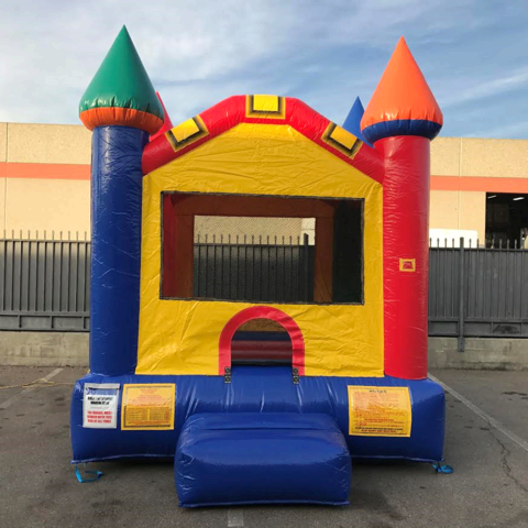 Multicolor Castle Jumper 11'x13' J105
