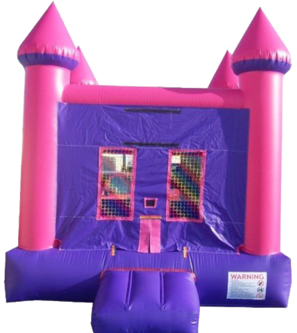 Pink Castle Jumper 13'x15' J343