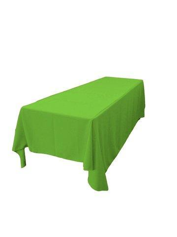 Linen: Lime Green Rectangular Tablecloth 60