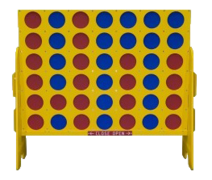 Giant Connect 4 Carnival Game