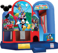 Slide Combo 714 Mini Mickey 15'x18'