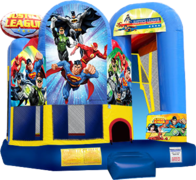 Slide Combo 715 Mini Justice League 15'x18'