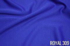 "Linen: Royal Blue Overlay 60""x60"""