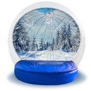 Inflatable Winter Snow Globe 12