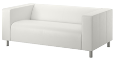 Lounge Sofa White