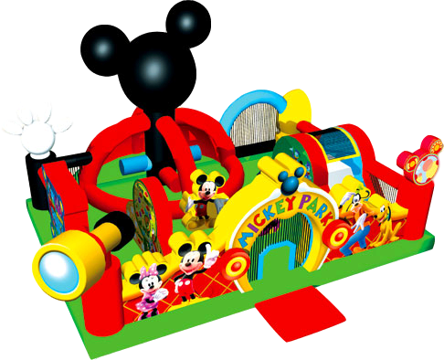 Toddler Mickey Playland T204 22'x22'