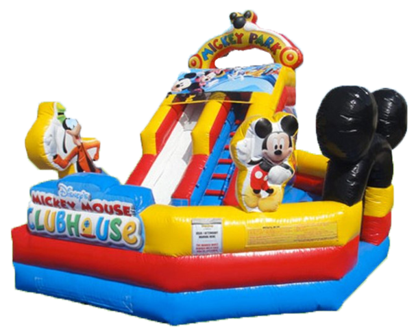 13' Mickey Toddler Water Slide 512 16'x18'