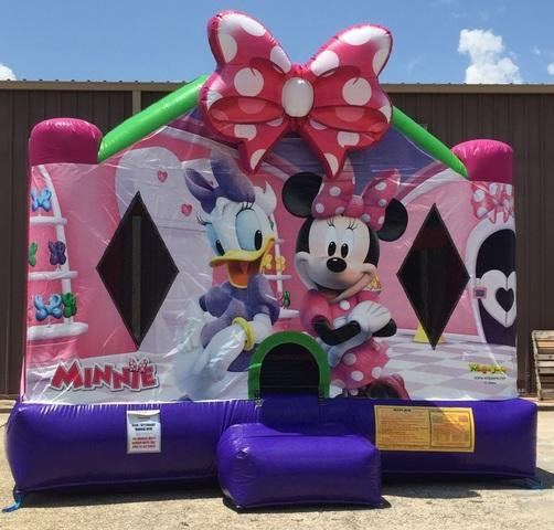 Premium Minnie Mouse 13'x15' J310