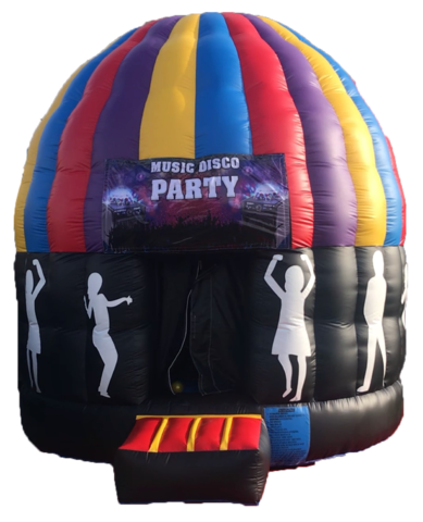 Music Disco Party Jumper 15'x18' A