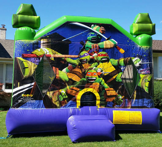 Premium Ninja Turtles Jumper  13'x15' J336