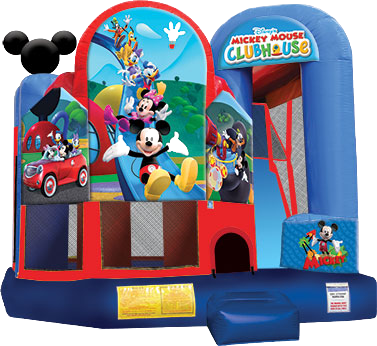 SC714 Mickey Clubhouse 4in1 Combo 15'x18'