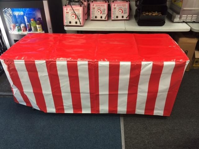 6' Long Table Vinyl Carnival Tablecovers
