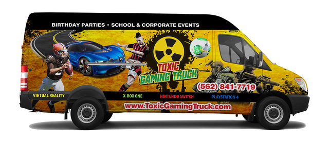 Toxic Gaming Truck