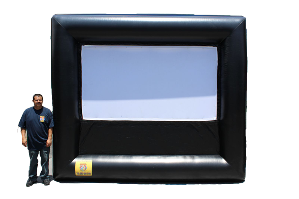 9'x5' Inflatable Movie Screen