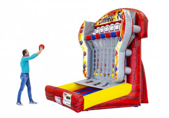 Connect 4 Inflatable Basketball Game