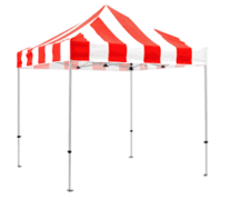 Carnival Booth 8'x8' without skirts (tent only)