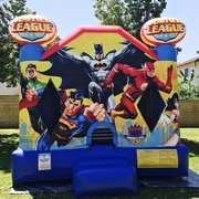 Premium Justice League Jumper  13'x15' J328