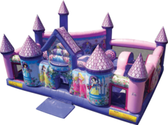 Toddler Princess Palace Playland T205 19'x19'