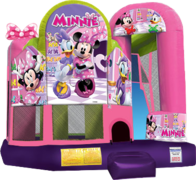 SC716 Minnie Mouse 4in1 Combo 15'x18'