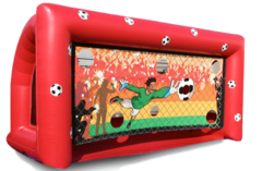 Soccer Penalty Kick Game 19'x7'