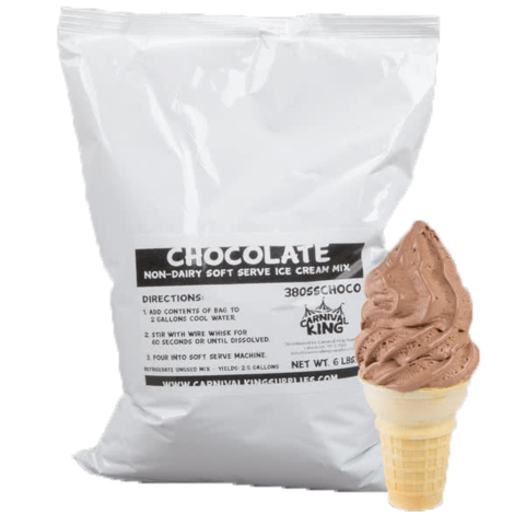 Extra Soft Serve Servings (Chocolate)