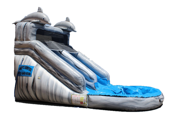 14' Dolphin Water Slide 504 11'x25'