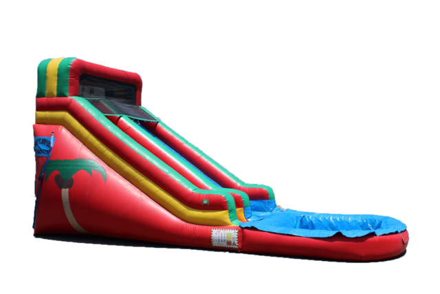 18' Tropical Water Slide 507 13'x30'