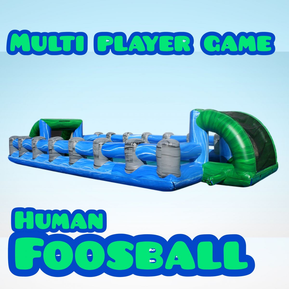 Human Foosball By California Jumping of Fresno