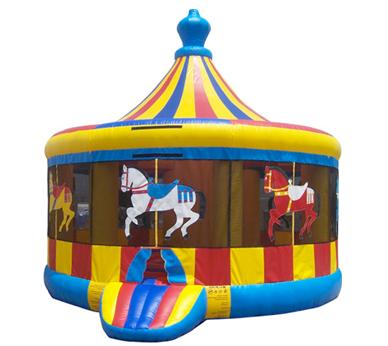 4n1 Carousel Bounce House Combo