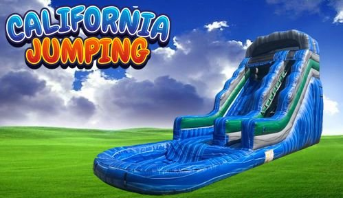 20' Pacific Wave Water Slide Rental