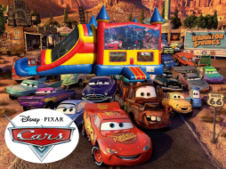 Cars 4 in 1 Combo (red/blue)