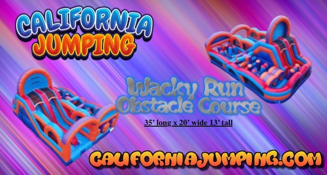Wacky Run Obstacle Course