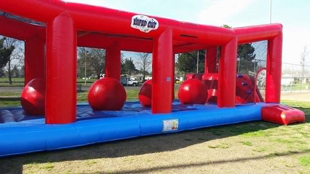 WipeOut Challenge Rental, Interactive Game Rentals Fresno