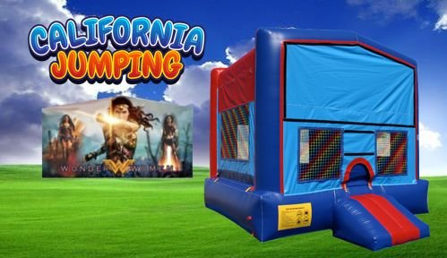 Wonder Woman Bounce House Rentals