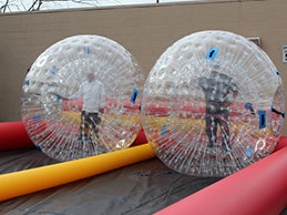 Zorb Balls / Hamster Balls with Double Track