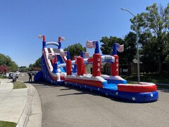 Water Slide with Slip and Slide22' All American Water Slide