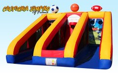 Interactive Inflatables3 Games in 1 Sports Game