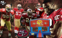 49ers Bounce House (red/blue)