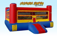 Interactive Inflatables15x15 Boxing Ring with Gloves and Head Gear