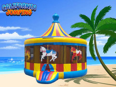 Bounce Combo House (Dry Only)Carousel Bounce House Combo