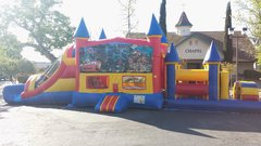 Cars 48 Foot Obstacle Course