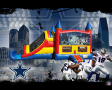 Dallas Cowboys 4 in 1 Combo (red/blue)