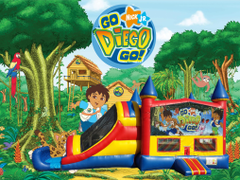 Diego 4 in 1 Combo (red/blue)