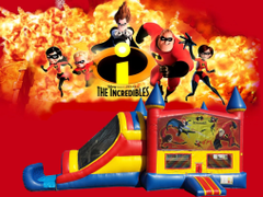 Incredibles 4 in 1 Combo (red/blue)