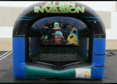 Alien Invasion Shooting Game Interactive Inflatable